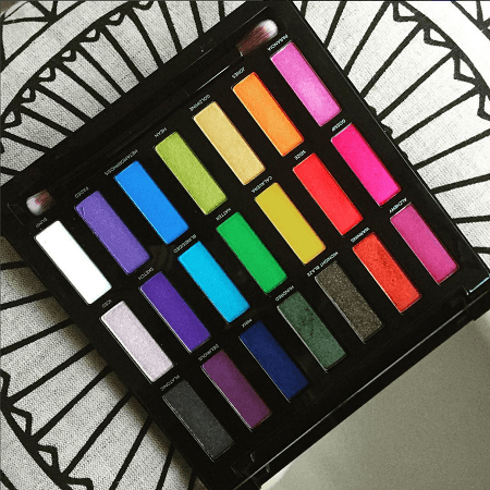 Les couleurs de la Full Spectrum palette d'Urban Decay