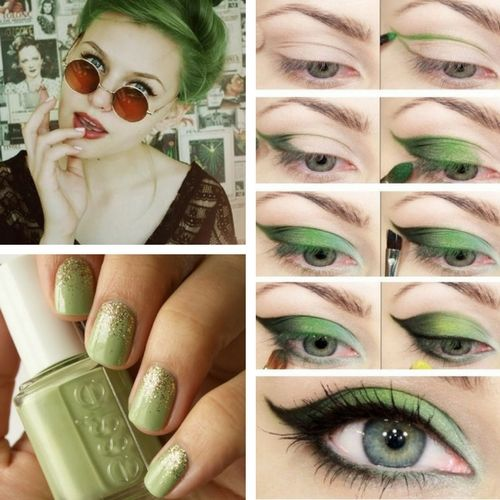 Tendance Greenery : maquillage, hairstyle, manucure...