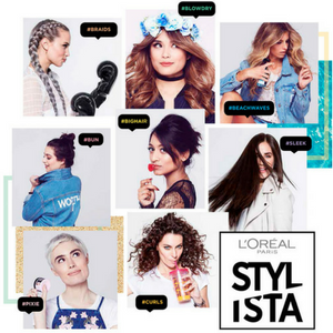 loreal hair bar stylista