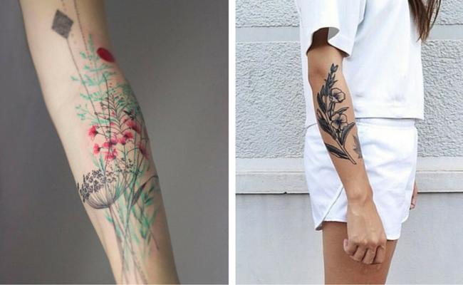 15 Id 233 Es De Tatouage Fleurs
