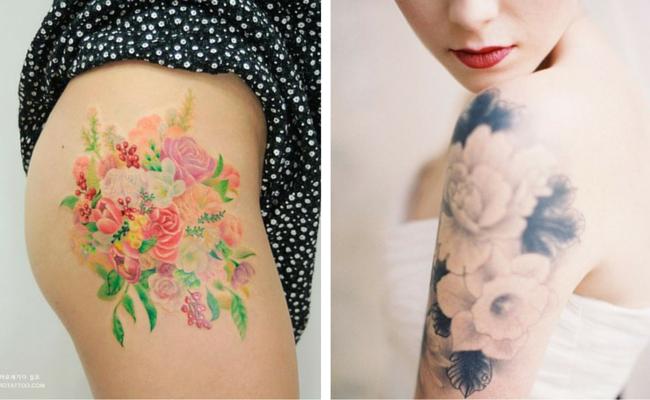 Tatouage Fleur De Cerisier Gallery Of De De Tatouage Tanche Leau De