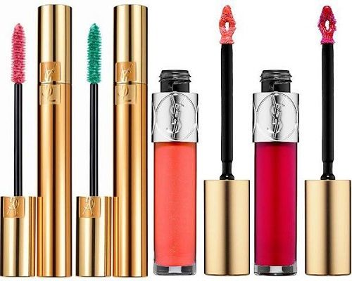 mascara et gloss pour le printemps 2016 par Yves Saint Laurent