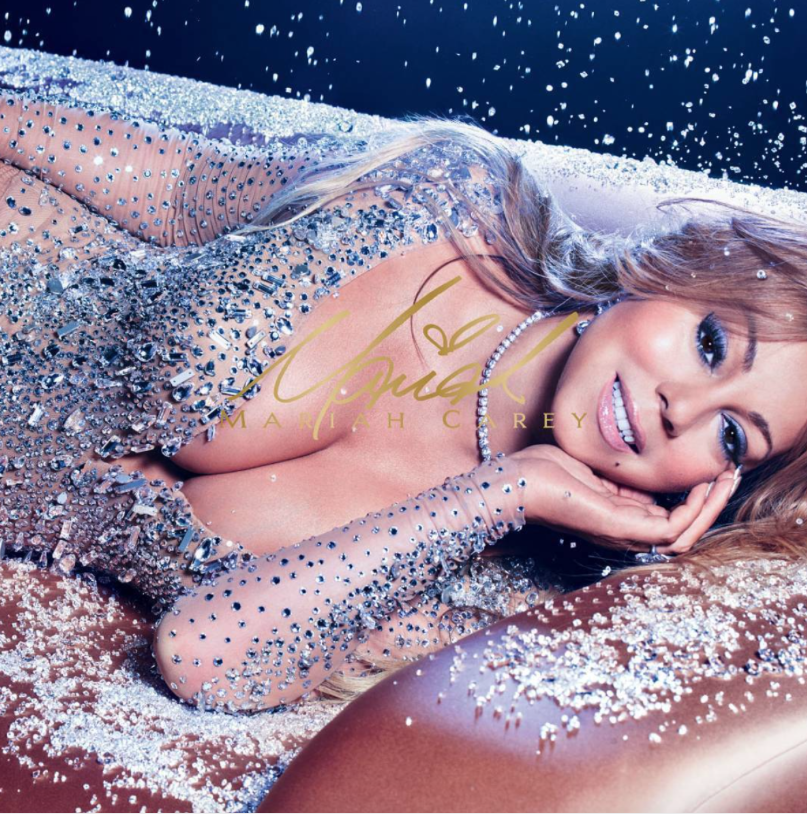 Mariah Carey pose pour sa collaboration avec M.A.C Cosmetics