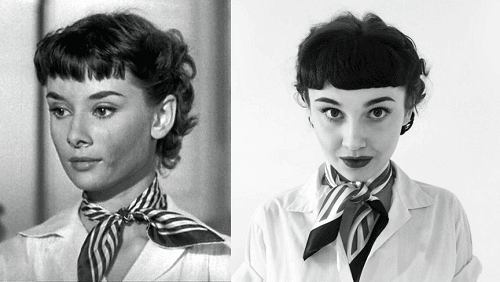 Transformation Audrey Hepburn