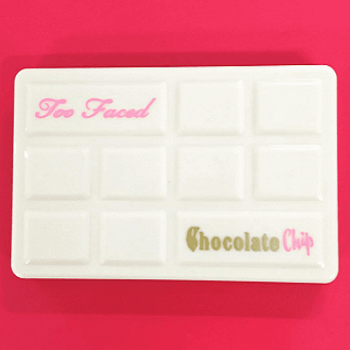palette chocolate chip too faced