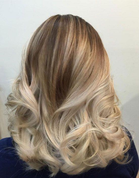 Les plus jolis balayages cheveux - Balayage blond clair ...