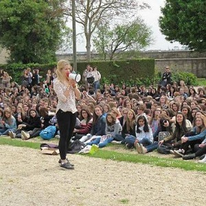 EnjoyPhoenix lors d'un meet-up