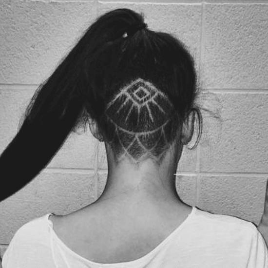 Undercut Tattoo, la nouvelle tendance pour les cheveux
