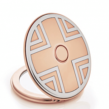 Miroir de poche rose gold