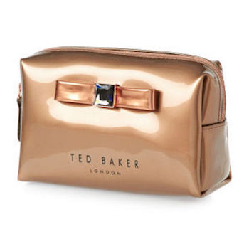 Trousse maquillage Ted Baker rose gold