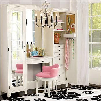 id es d co pour am nager son coin beaut. Black Bedroom Furniture Sets. Home Design Ideas