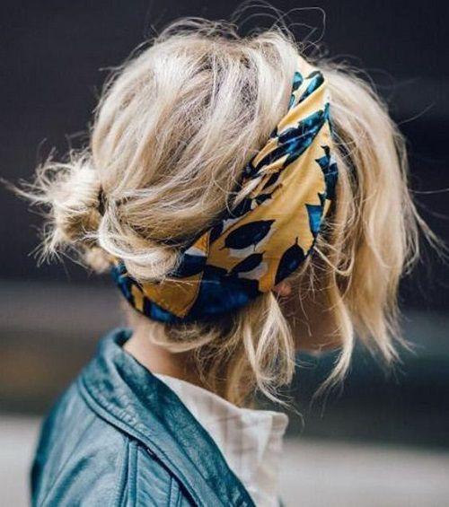 Le foulard dans les cheveux   la tendance du moment ! 90292da632b