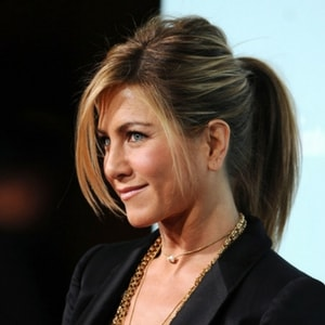 Queue de cheval Jennifer Aniston