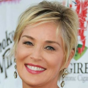 Coupe cheveux courts Sharon Stone