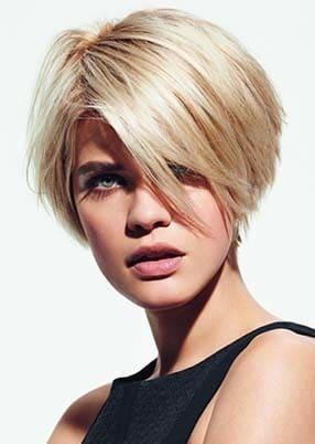 Cheveux courts les plus jolies coupes de cheveux courtes - Coupe courte visage carre femme ...