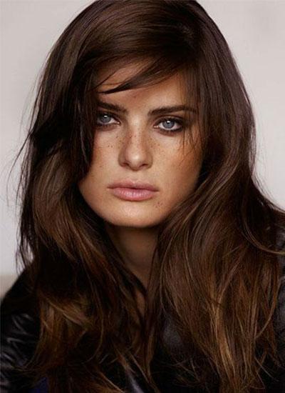 Couleur cheveux brun reflet caramel