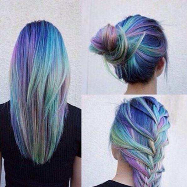 des ides de coiffures pour les cheveux colors - Coloration Cheveux Bordeau