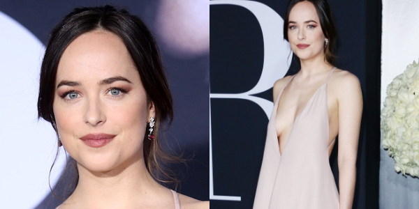 Dakota Johnson à la première de Cinquante Nuances plus Sombres à Los Angeles