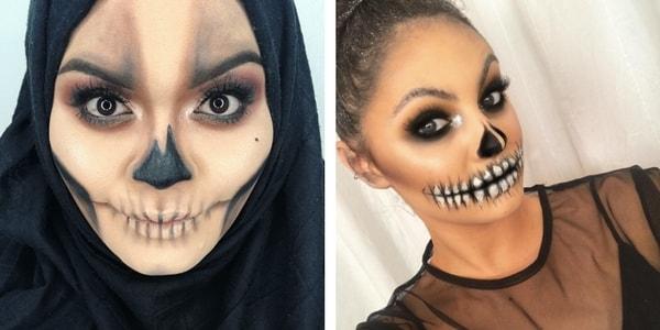 Maquillage squelette mexicain maquillage halloween crne mexicain olympus digital camera - Maquillage mexicain facile ...