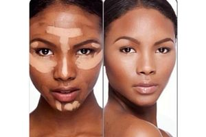 comment se maquiller femme noire