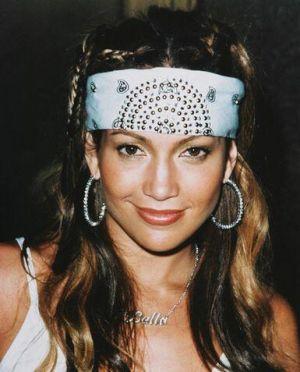 Jennifer Lopez avec un bandana