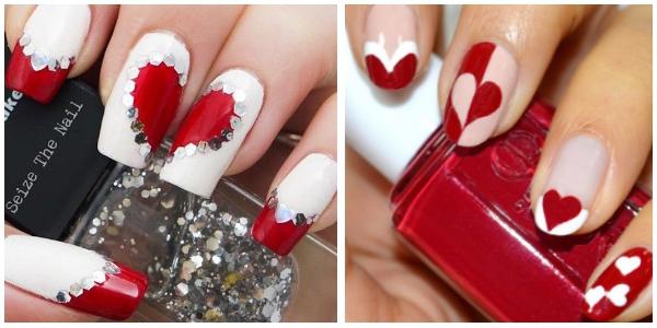 Les plus jolis nail art pour la saint valentin - Ongles decores pour la saint valentin enidees ...