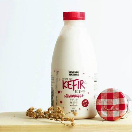 Kéfir au lait, Mother Nature