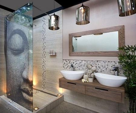 D co une ambiance nature et zen dans la salle de bain - Inspiration salle de bain zen ...