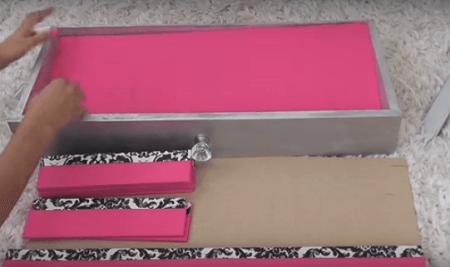 Comment fabriquer un rangement maquillage - Rangement maquillage tiroir ...