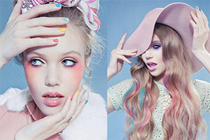 maquillage pastel inspiration