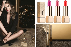 le maquillage Sparkle Clash d'Yves Saint Laurent pour Noël 2016