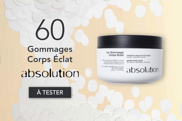 gommage corps éclat absolution à tester
