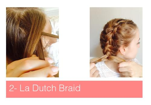 tuto fishtail braid et dutch braid